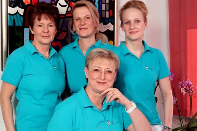 Das Kollektiv der Frauenarztpraxis Dr. med. S. Jahn
